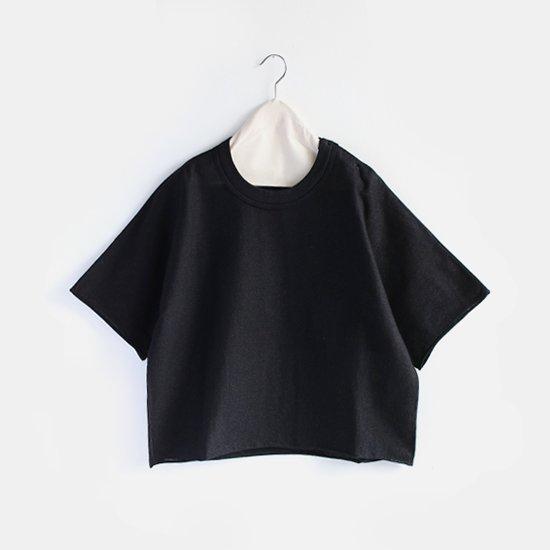 Boboutic<br>コットンニットTシャツ<br>Black