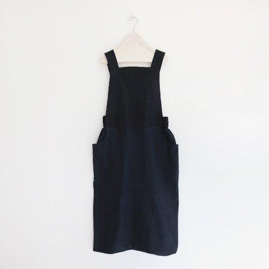 Boboutic<br>コットンニットジャンパースカート<br>Black