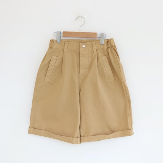 Charpentier de Vaisseau<br>コットンツイルワークショーツ<br>〈 Barry 〉<br>Beige