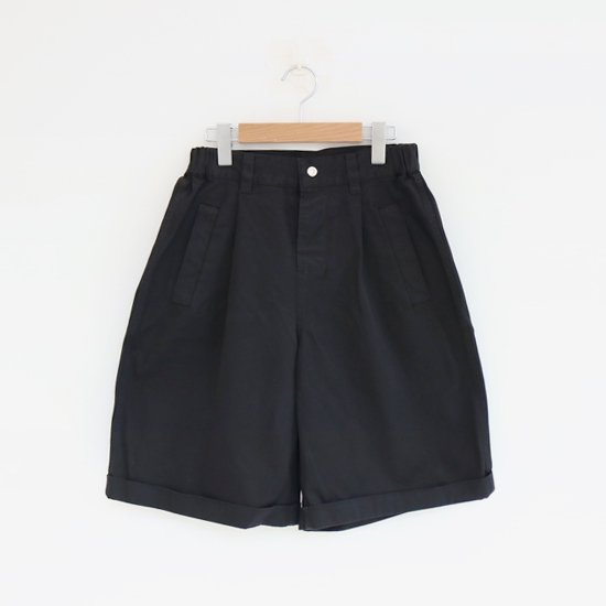 Charpentier de Vaisseau<br>コットンツイルワークショーツ<br>〈 Barry 〉<br>Black