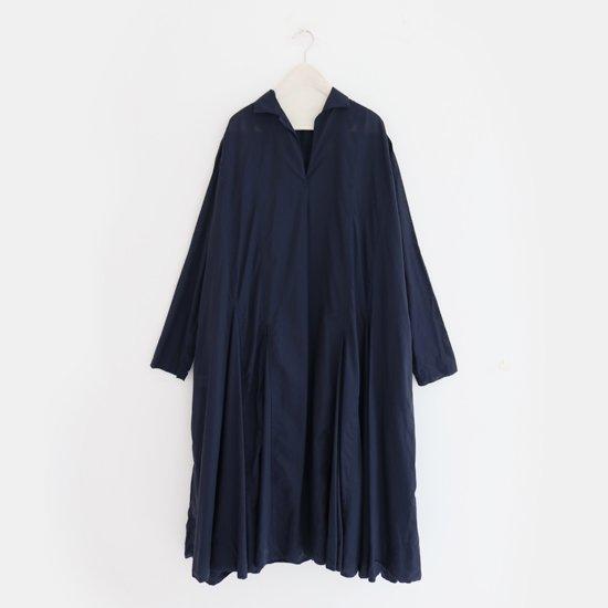 Ricorrrobe<br>コットンギャザードレス<br>Navy