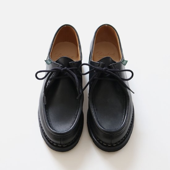 Paraboot<br>レザーシューズ<br>Michael Men's<br>Black