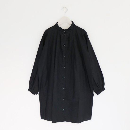 Gallego Desportes | タックロングシャツ Black | D001191TS169
