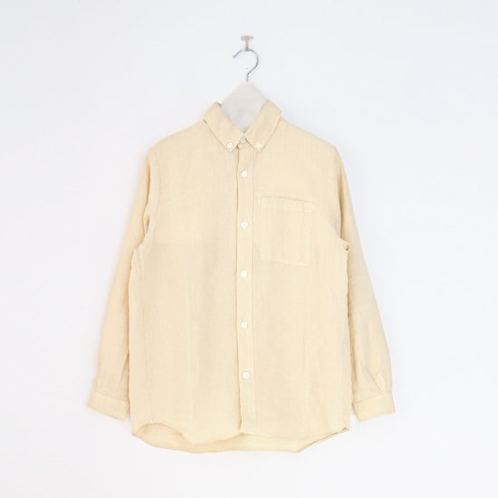 Charpentier de Vaisseau<br>リネンシャツ<br>〈 Sean 〉<br>Light Yellow
