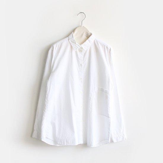 Gallego Desportes<br>プレーンシャツ<br>White