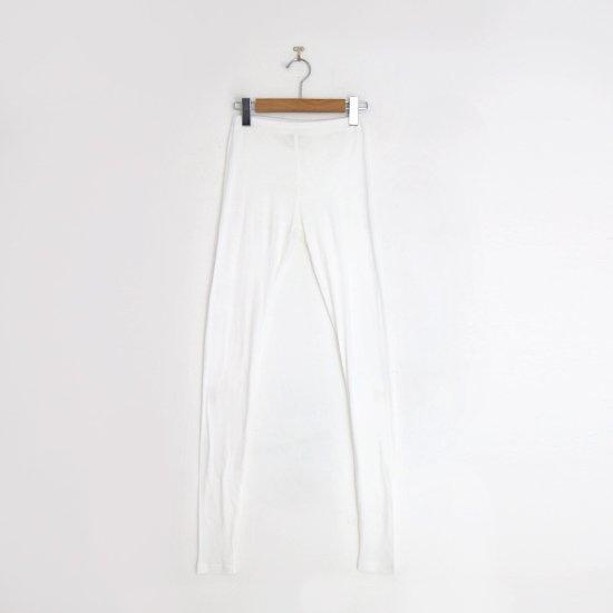 ゴーシュ   スーピマカシミアフライスレギンス White   F019202FS430
