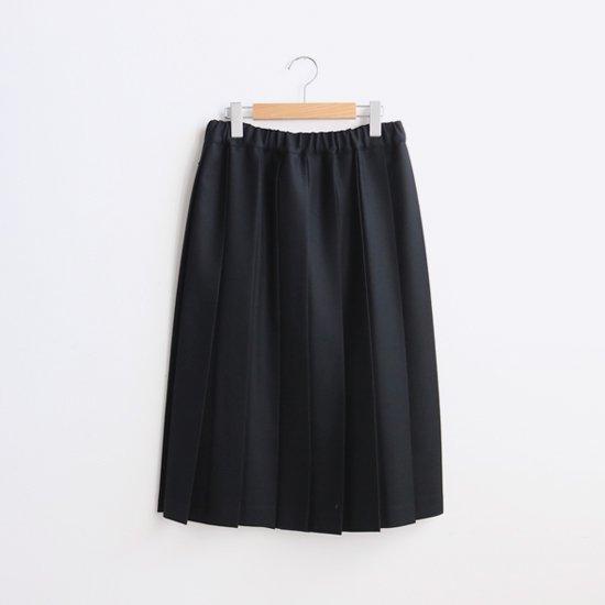 Charpentier de Vaisseau | ウールプリーツスカート〈 Belle 〉Black | C003162PS087