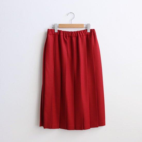 Charpentier de Vaisseau<br>プリーツスカート<br>〈 Belle 〉<br>Red