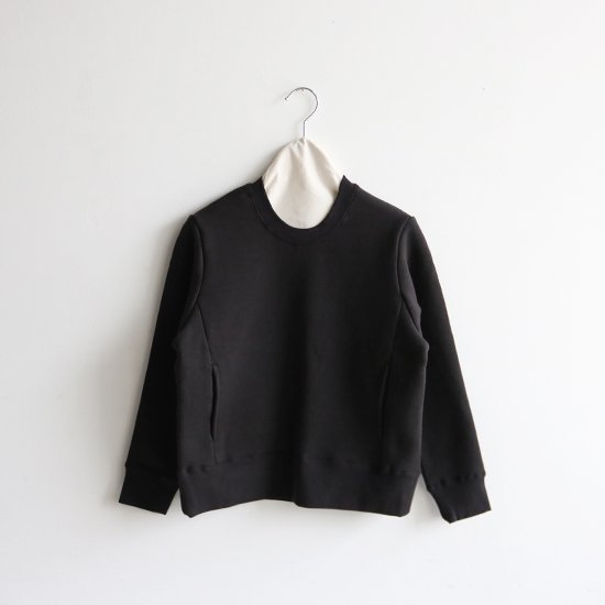 Atelier d'antan | クルーネックスウェット〈 Krull 〉Black | A232192TT396