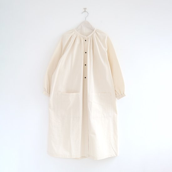 Lin Francais D'antan<br>コットンアトリエブラウス<br>〈 Rousseau 〉<br>Natural