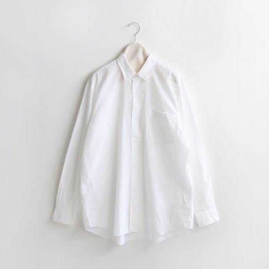 Comoli<br>コモリシャツ<br>White
