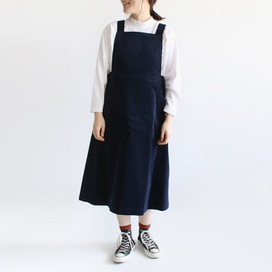 Charpentier de Vaisseau<br>コーデュロイジャンパースカート<br>〈 Dorothy 〉<br>Navy