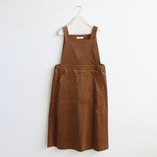 Charpentier de Vaisseau<br>コーデュロイジャンパースカート<br>〈 Dorothy 〉<br>Brown