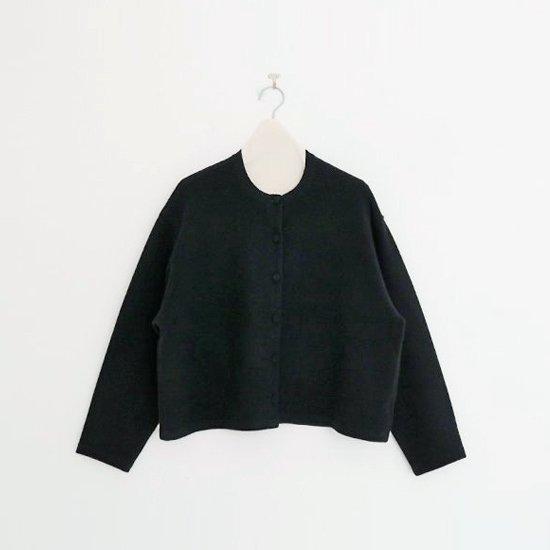 Atelier d'antan | ニットカーディガン〈 Tiele 〉Black | A232192TK394