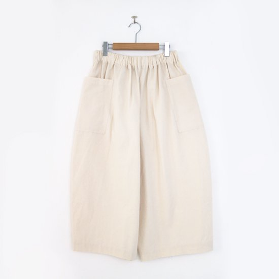 Lin Francais D'antan<br>アトリエパンツ<br>〈 Perriere 〉<br>Natural
