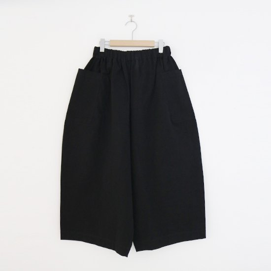 Lin Francais D'antan<br>アトリエパンツ<br>〈 Perriere 〉<br>Black