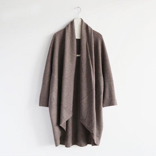 糸衣<br>カシミヤローブ<br>〈 Fuji 〉<br>Brown