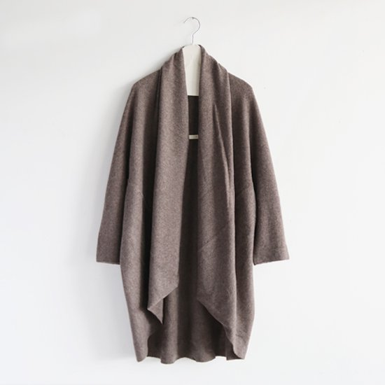 糸衣 | カシミヤローブ〈 Fuji 〉Brown | E009182TK202