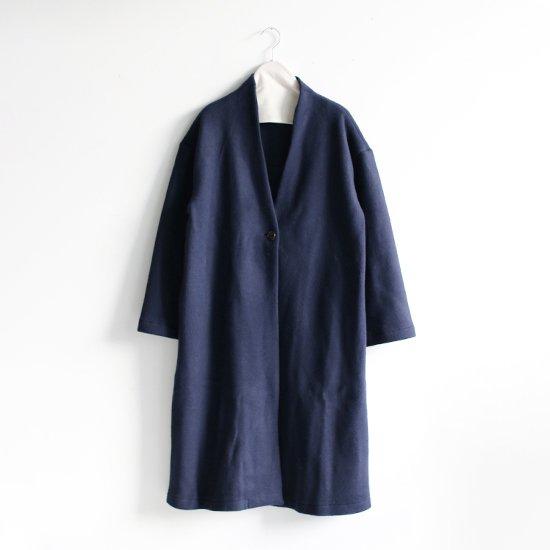 Style+Confort<br>ウールワンボタンコート<br>Navy