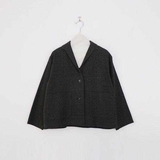 Atelier d'antan | テーラードジャケット〈 Berg 〉Brown Check | A232192TJ386