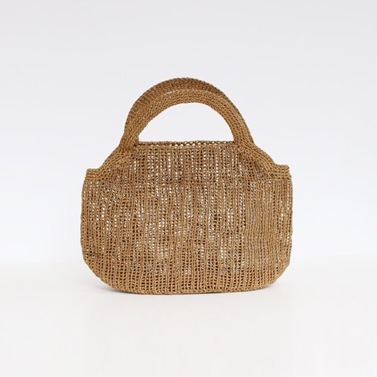 Sophie Digard | ワックスリネンバッグ Brown | D047181BB118