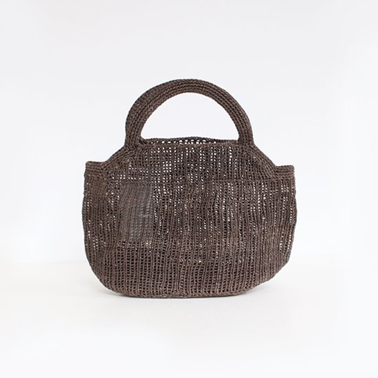 Sophie Digard<br>ワックスリネンバッグ<br>Grey