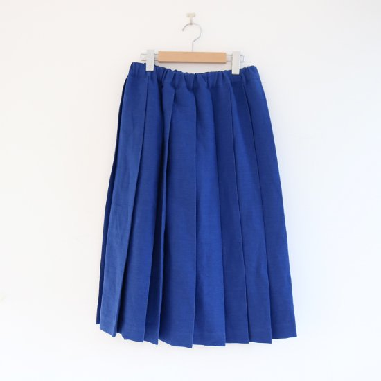 Charpentier de Vaisseau<br>リネンプリーツスカート<br>〈 Belle 〉<br>Blue