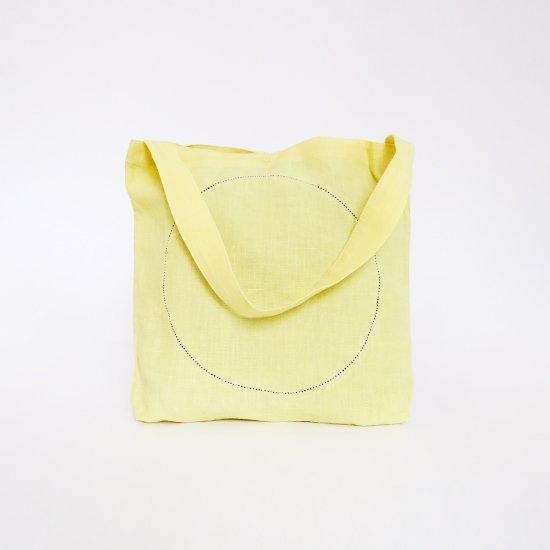 Atelier d'antan | リネンピコバッグ〈 Klee 〉Yellow | A232201BB406
