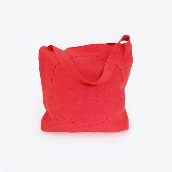 Atelier d'antan | リネンピコバッグ〈 Klee 〉Red | A232201BB406