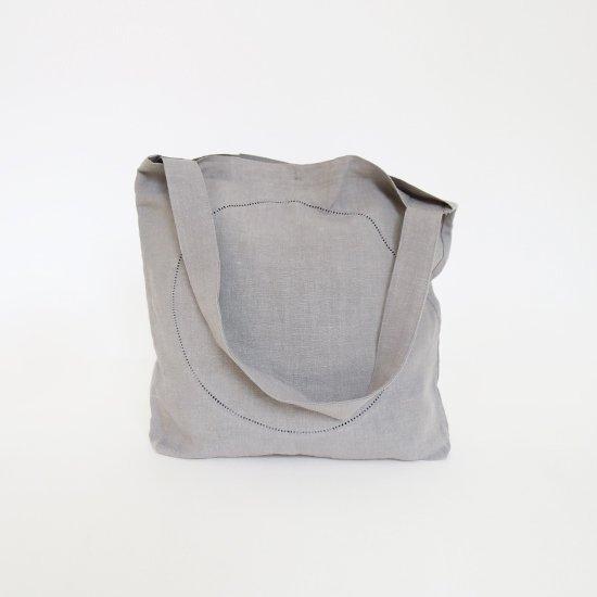 Atelier d'antan | リネンピコバッグ〈 Klee 〉Grey | A232201BB406
