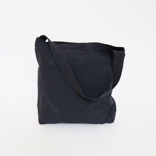 Atelier d'antan | リネンピコバッグ〈 Klee 〉Black | A232201BB406
