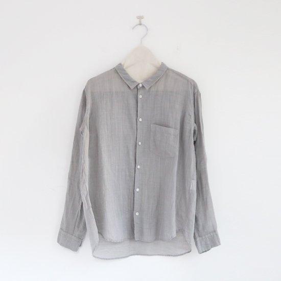 ゴーシュ<br>リネンコットンダイシャツ<br>Light Grey