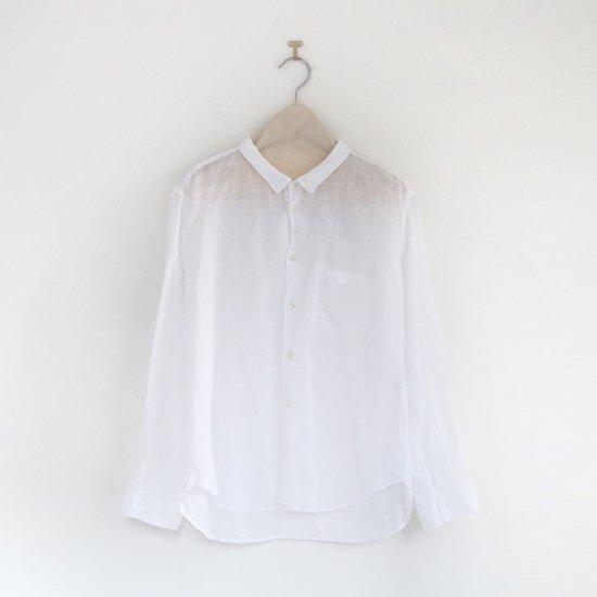 ゴーシュ<br>リネンコットンダイシャツ<br>White