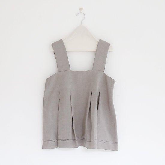 Atelier d'antan   ノースリーブトップ 〈 Rilke 〉 Grey   A232201TS398