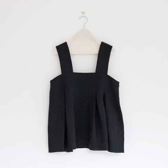 Atelier d'antan | ノースリーブトップ 〈 Rilke 〉 Black | A232201TS398