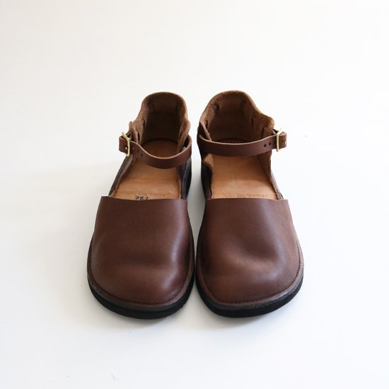 Aurora Shoes | ニューチャイニーズ Brown | F002062SS004