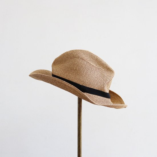 Mature Ha. | ボックスドハット Light Brown | F065201FH002
