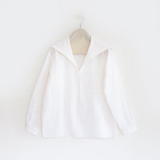 Charpentier de Vaisseau | セーラーカラーシャツ〈 Susie 〉White | C003161TS159