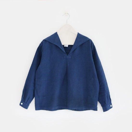Charpentier de Vaisseau | セーラーカラーシャツ〈 Susie 〉Navy | C003161TS159