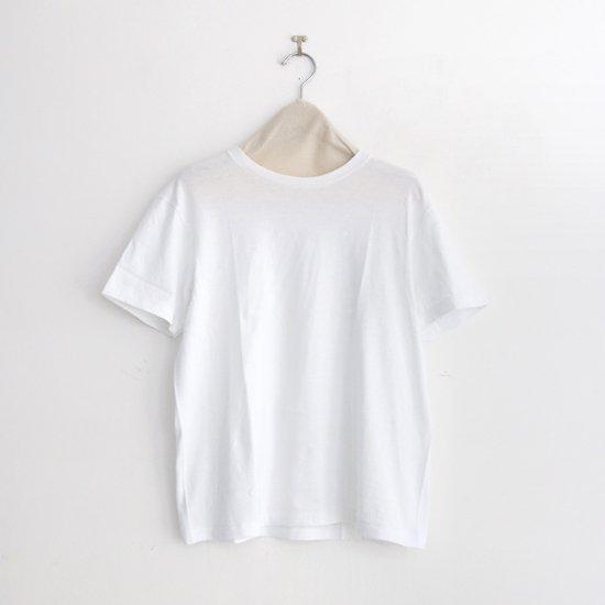 Yaeca | クルーネックTシャツ White | F052201TT123/131