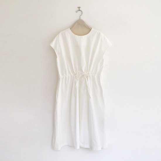 Atelier d'antan | フレンチスリーブワンピース〈 Albers 〉White | A232201TD411