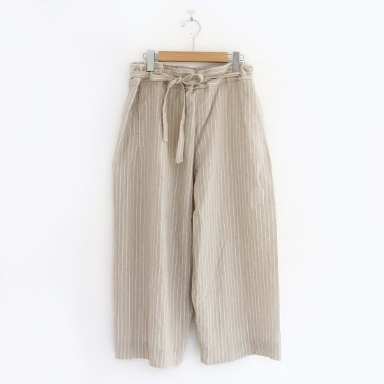 Yaeca Write | リボンパンツ Natural Stripe | F052201PP134