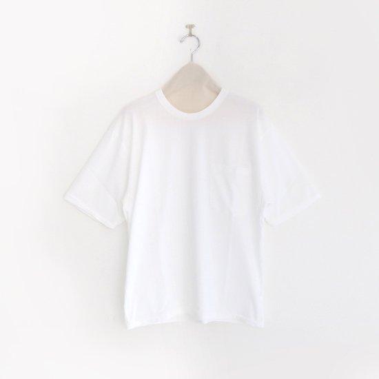 Charpentier de Vaisseau | オーバーサイズポケットTシャツ 〈 Jude 〉 White | C003201TT392