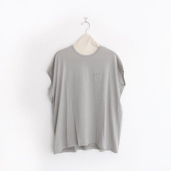 ゴーシュ | コットンフレンチスリーブカットソー Light Grey | F019201TT404