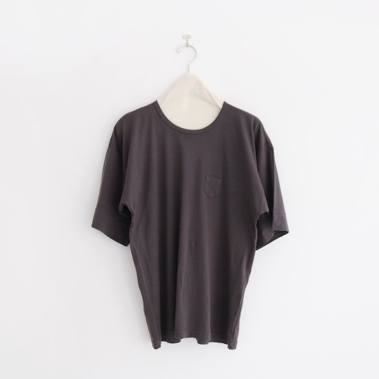 ゴーシュ | コットンワイドスリーブTシャツ Dark Grey | F019201TT402