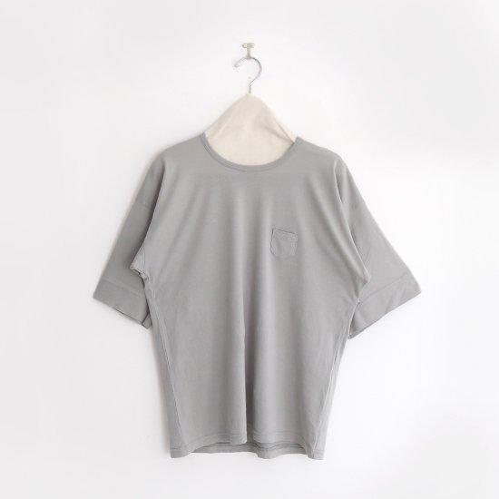 ゴーシュ | コットンワイドスリーブTシャツ Light Grey | F019201TT402