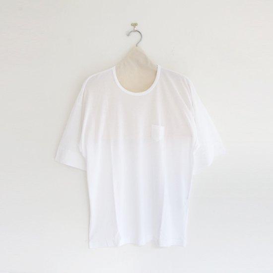 ゴーシュ | コットンワイドスリーブTシャツ White | F019201TT402