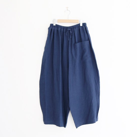 Atelier d'antan | フロントポケットパンツ〈 Wiley 〉Navy | A232201PP402