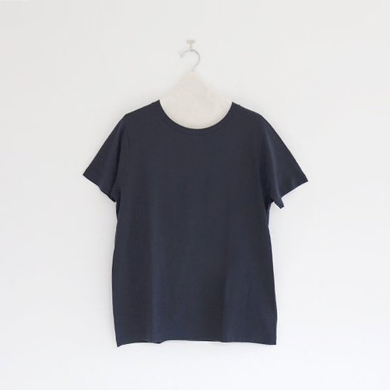 Yaeca | ライトUネックTシャツ Navy | F052181TT048