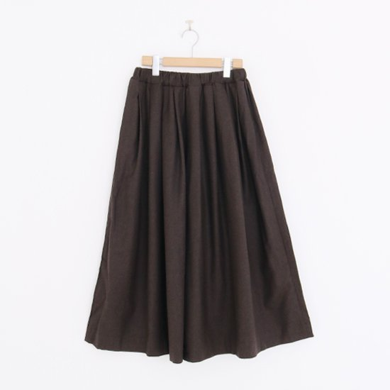 Gallego Desportes | タックキュロットパンツ Brown | D001202PP199